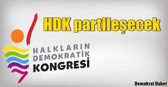 Halkların Demokratik Kongresi partileşecek