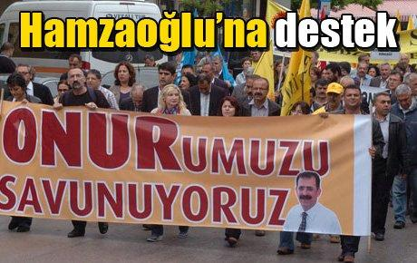 Hamzaoğlu'na destek