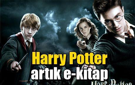 Harry Potter artık e-kitap