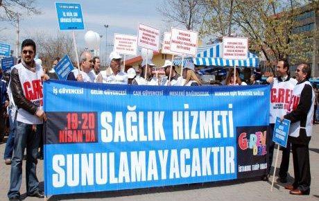 'Hastalara değil paralı sağlığa karşı'