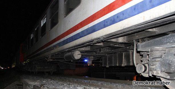 Hatay'da tren kazası