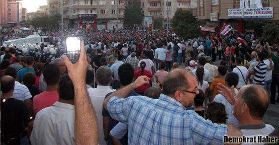Hatay'daki etkinliğe polis saldırısı