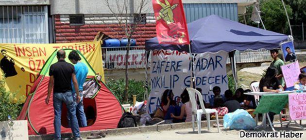 Hatay'daki 'Gezi çadırları' yıkıldı