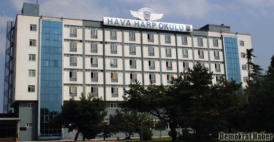 Hava Harp Okulu'nda cezayla yıldırma