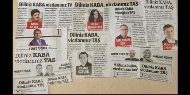 'Tek manşet'ten sonra 'tek yazar': 'Havuz medyası' yazarları, Kabataş yalanına böyle sarıldı