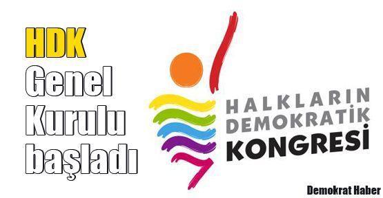 HDK 2. Genel Kurulu başladı
