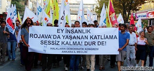 HDK: İşgale sessiz kalmayacağız, mücadele edeceğiz
