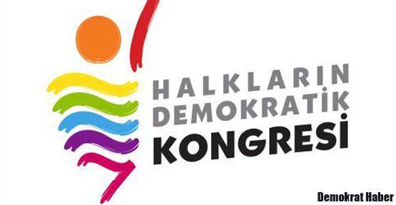 HDK: Şimdi barışçıl ve adil çözüm zamanı