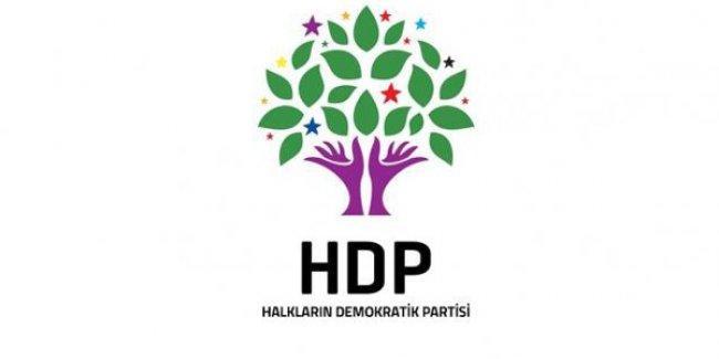 HDP'den, aday listesi açıklaması