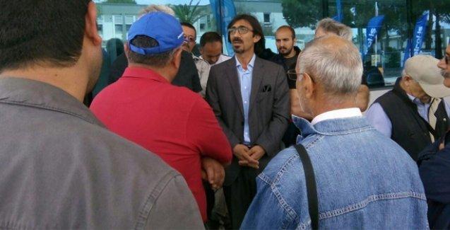 HDP'den, grevdeki Petkim işçilerine dayanışma ziyareti