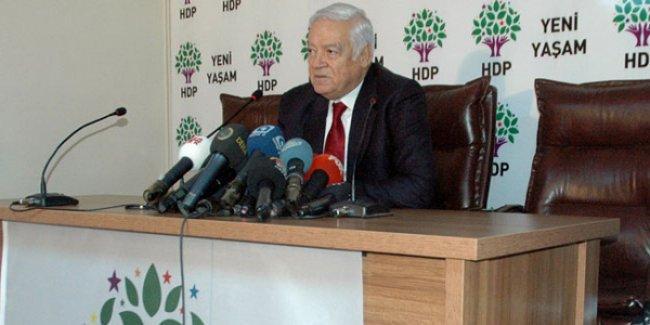 HDP'den 'resmen' aday olan Dengir Mir'den 'adaylık' açıklaması