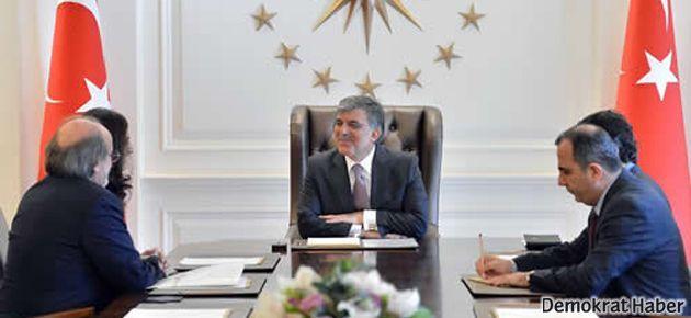 HDP Eş Başkanları Cumhurbaşkanı ile görüştü