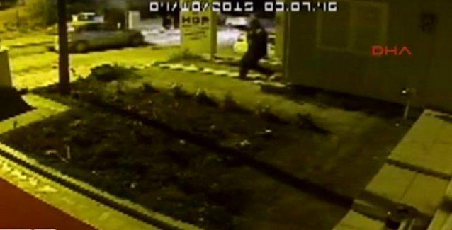 HDP Genel Merkezi'ne saldırı anı kameralarda