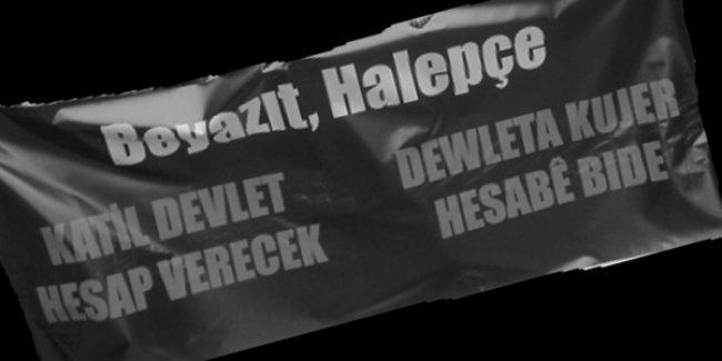 HDP: Halepçe ve Beyazıt, bir daha asla...