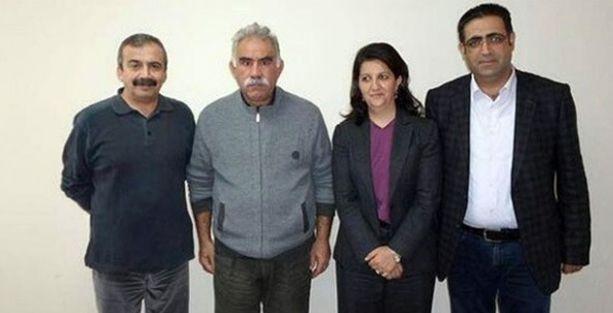 HDP heyeti İmralı'da