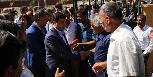 HDP Heyeti'nden saldırılarda yaşamını yitirenlerin ailelerine ziyaret