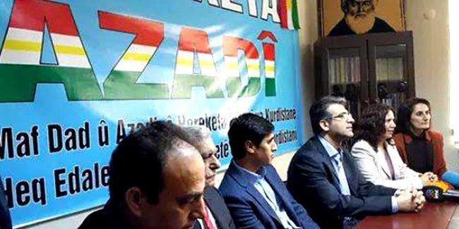 HDP ile 'ittifak' yapan Azadi Hareketi'nden 'Seçim İttifakı' programı