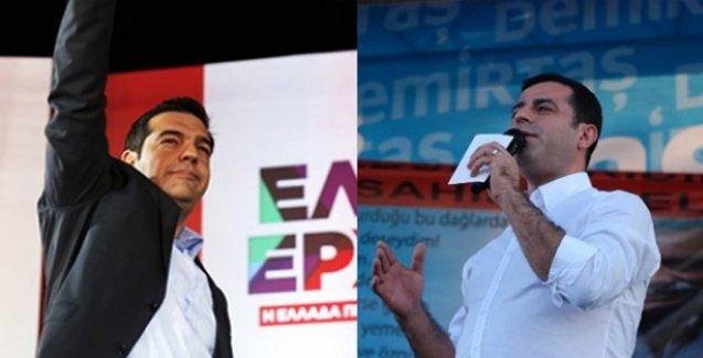HDP İzmir mitinginde Tsipras sürprizi