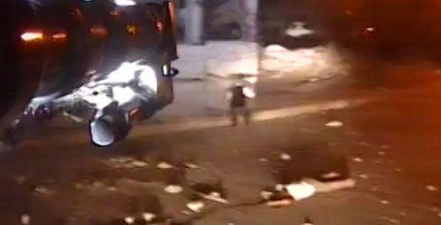 HDP'li Ekrem Kaçaroğlu'nun vurulduğu anı, TOMA kamerası kaydetmiş