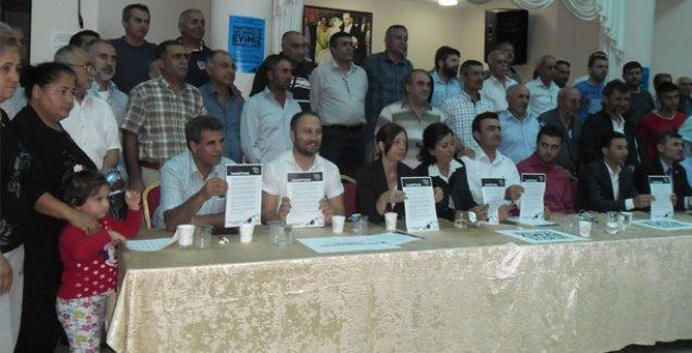 HDP milletvekili adaylarından kentsel dönüşüm taahhütnamesi