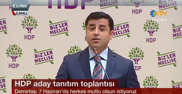 HDP milletvekili adaylarını tanıtıyor