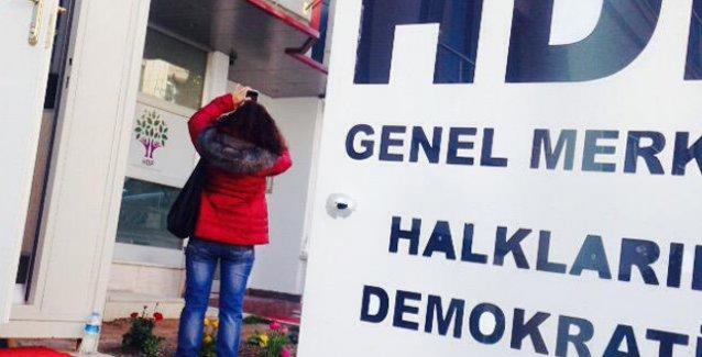 HDP'nin Ankara'daki Genel Merkezi'ne silahlı saldırı!
