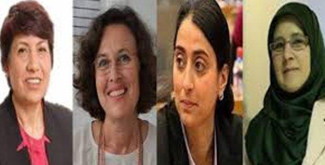 HDP'nin faklı ve renkli kadın vekilleri mecliste