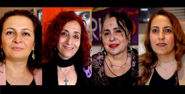 HDP'nin İstanbul'daki Kürt, Türk, Ermeni, Alevi ve Arap kadın adayları konuştu