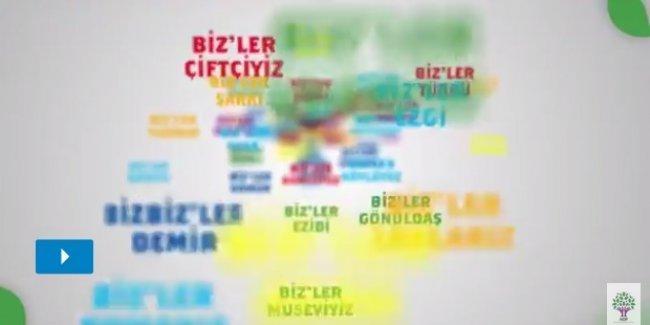 HDP'nin seçim şarkısı: Biz'ler HDP, Biz'ler Meclise