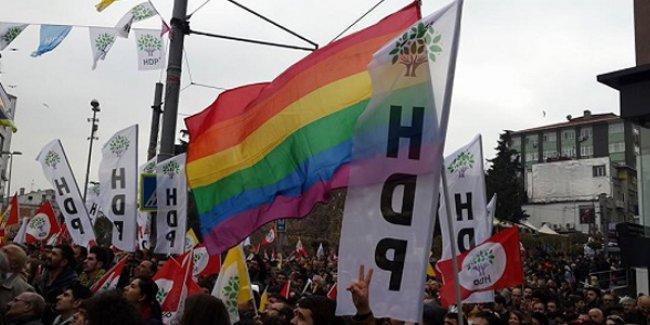 'HDP'nin tüm vekilleri LGBTİ aktivisti gibi hareket edecek'