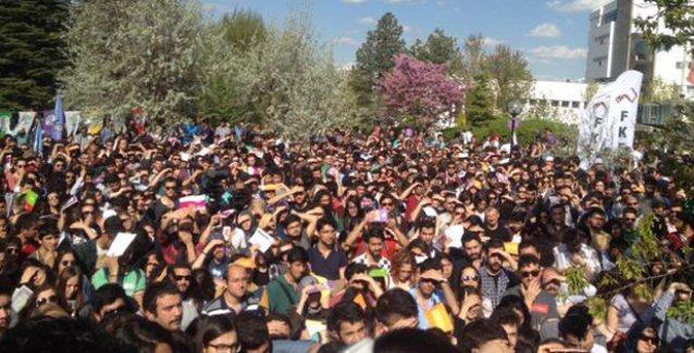 'HDP, ODTÜ'de barajı aştı'