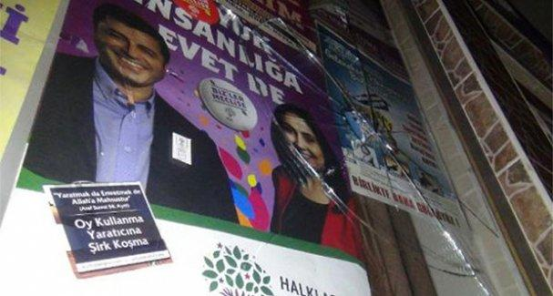 HDP seçim irtibat bürosuna taşlı saldırı