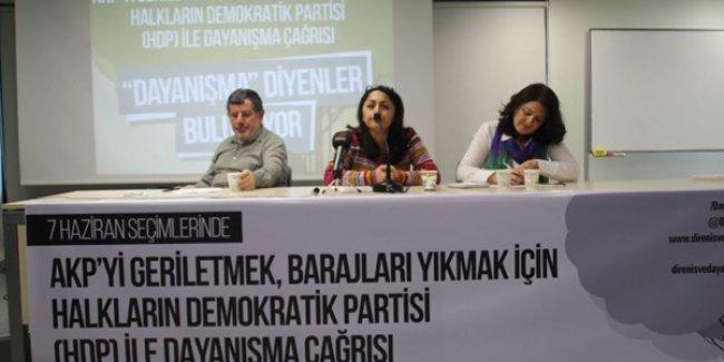 HDP'yle dayanışma çağrısına destek büyüyor