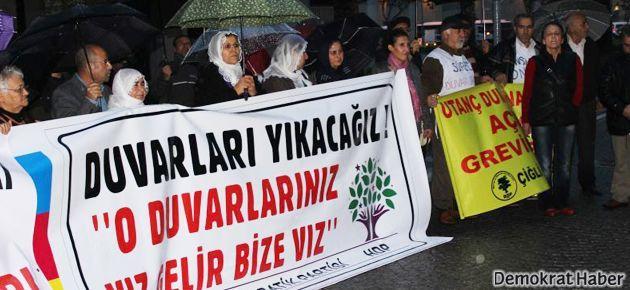 HDP'den Gökkan'a destek açlık grevi