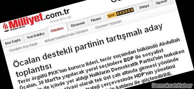 HDP'den Milliyet'e: Gazetecilik değil, ihbarcılık
