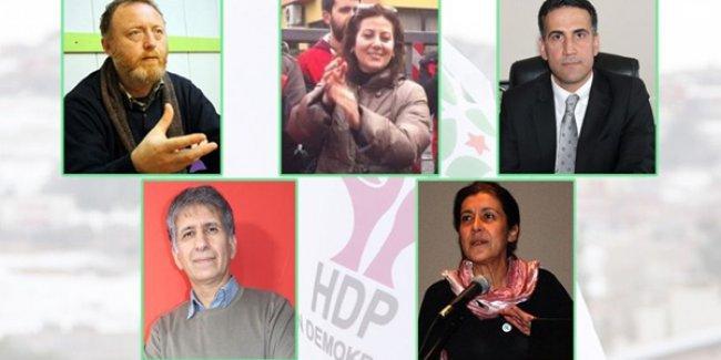 HDP'nin aday adayları belli olmaya başladı