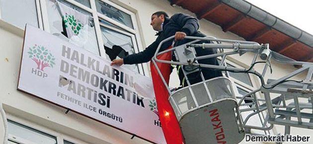 'HDP'ye saldırılardan hükümet sorumlu'