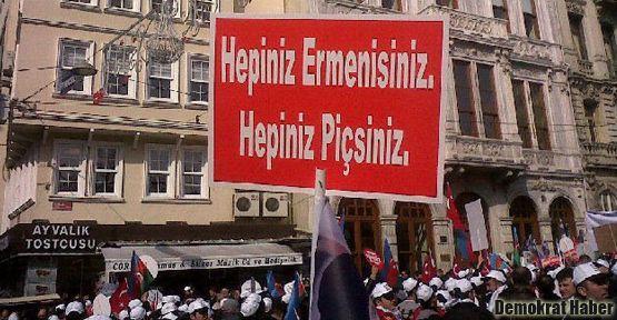 'Hepiniz Ermenisiniz, hepiniz p..siniz' pankartına hapis cezası