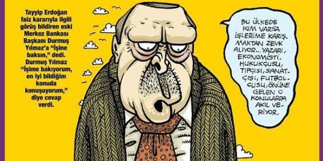 'Her işi bilen' Erdoğan, her işine karışılmasından şikayetçi