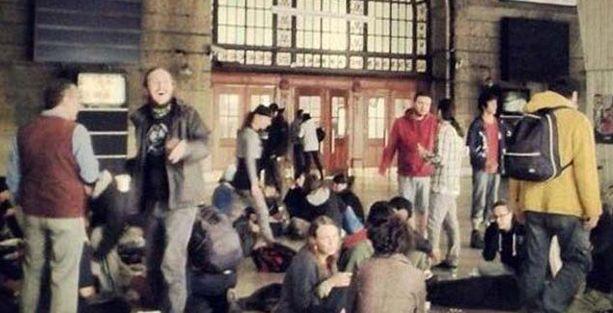 Herkesin gözü Taksim'deyken Haydarpaşa işgal edildi