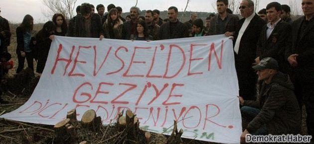 Hevsel'den Gezi'ye Dicle direniyor