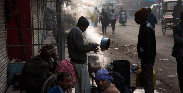 Hindistan'da 150 kişi soğuktan öldü