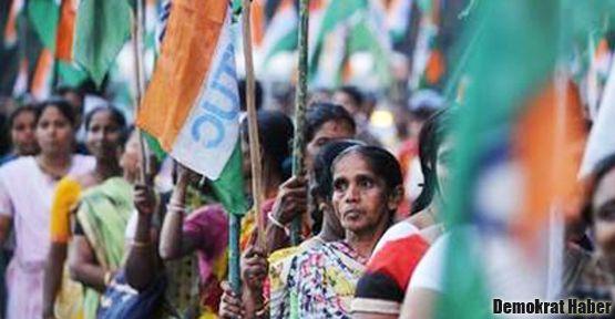 Hindistan'da iki günlük genel grev