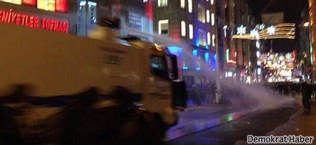 #hirsizvar diyenlere Taksim'de sert müdahale