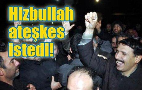 Hizbullah'tan ateşkes çağrısı