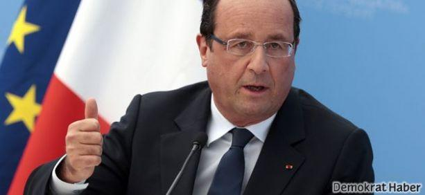 Hollande: 'Kürtlere silah göndereceğiz'