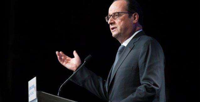 Hollande'den Netanyahu'ya tepki