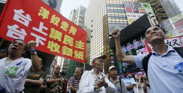 Hong Kong'daki protestolar ikinci haftasına girdi