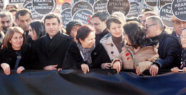 Hrant Dink anmasına katılan CHP'liler 1 üyeyi rahatsız etti