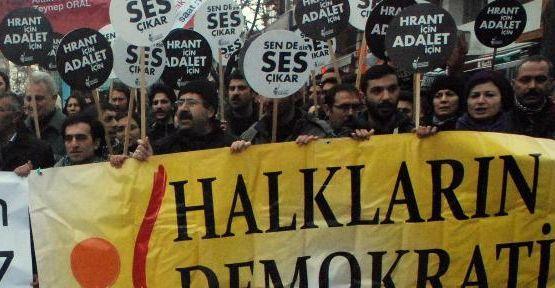 Hrant Dink için ses çıkardılar